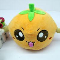创意橙子毛绒玩具企业吉祥物儿童玩偶娃娃礼物厂家定制