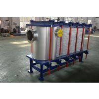 湖南长沙 物料处理热交换器现货厂家 上海将星 盐酸硫酸专用板式换热器 氮氨废水处理焊接板式换热器