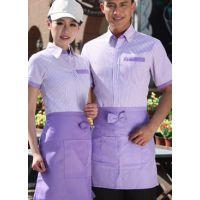 濮阳快餐店工作服围裙工装三件套多种款式任选用料考究做工细致团体装定制