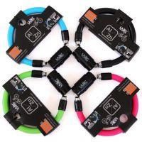 台湾/ULAC优力 自行车锁 钢缆锁锁马蹄锁 旋转筒环形车锁 SD-600r
