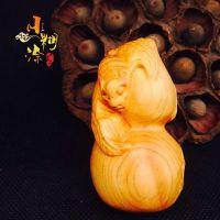 天然太行山千年崖柏雕刻手把件工艺品 葫芦 挂件 厂家直销批发