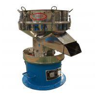 供应恒宇移动式450振动筛豆浆过滤机