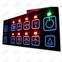 薄膜开关 背光薄膜按键 LED薄膜开关 EL冷光片按键