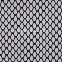 西餐厅幕墙金属装饰网 室内金属装饰网帘 铝合金材质