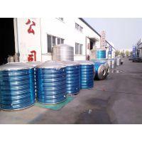 河北邯郸厂家直销不锈钢保温水箱,一吨圆形保温