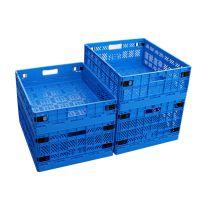 浙江 折叠式塑料箱 生产厂家 604028 全新料