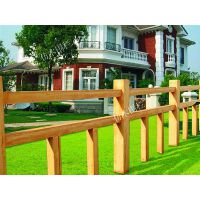 水泥仿木护栏 艺术仿木建筑护栏