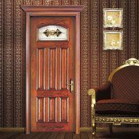 深圳森德堡木业 欧式古典风格房门室外大门复合实木门室内防盗门SDB-HX010可批混