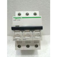 施耐德小型断路器iC65N 3PD32A 空气开关iC65N 3P D32A A9F19332