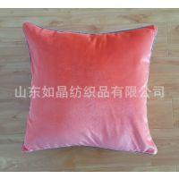 供应抱枕 纯棉帆布抱枕尾单批发 工厂直销 外贸品质