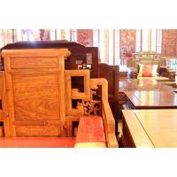 鲁创红木厂家直销--卷书沙发