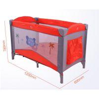 出口欧洲多功能婴儿床折叠游戏床便携式bb床欧式宝宝床儿童摇床