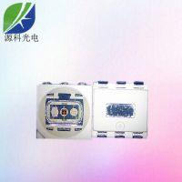 led工厂源科销售5050RGB变色灯珠 5050七彩led贴片灯