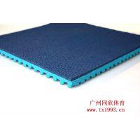 幼儿园橡胶地垫 广州同欣 优质橡胶地板厂家 荔枝纹