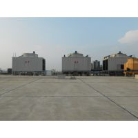 供应郑州方形横流式玻璃钢冷却塔