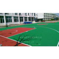 浙江丽水羽毛球场 篮球场丙烯酸、硅PU地面材料施工价钱多少