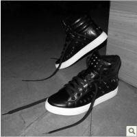 批发供应 冬季新款 骷髅头棉鞋 日常 时尚韩版 舒适高帮男鞋