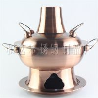 防紫铜不锈钢大烟囱经典老式木炭火锅炉
