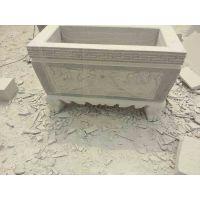 【石雕方形香炉】祠堂寺庙花岗岩香炉各种造型定做