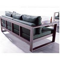 金属铸铝紫灿威利斯臻品方管花园客厅家具桌椅