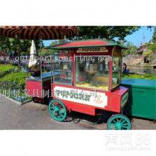 潍坊景区步行街饮料小吃售卖车售货亭在哪里定做?