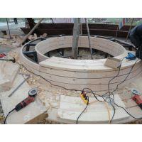 防腐木加工厂专业供应 碳化木承接防腐木安装