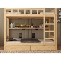 四川公寓床 成都实木公寓床定制厂家