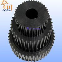 广州擎川everlar批发黑色工业碳钢齿轮 主动轮从动轮整套配套