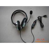JS-1267 USB电脑耳机 麦克风 耳机