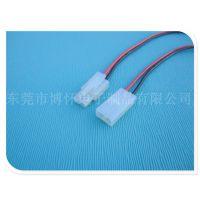 供应6200-2P公母插头线 插拔式空中对接线 端子连接线