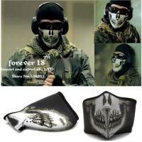 使命召唤野战头罩 CS战术幽灵面具 海豹骷髅面罩 半脸面罩