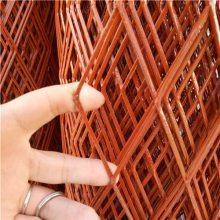生产1.5m宽钢板网 100刀钢板网现货 菱形圈玉米网
