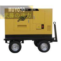 65KW三相柴油发电机/建筑工地用发电机
