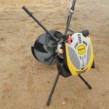 启航牌多功能大马力硬土质挖坑机 埋桩高效钻坑机 农用小型挖坑机