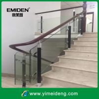 深圳市意美登楼梯供应厂家定制304不锈钢玻璃楼梯扶手YMD-1121