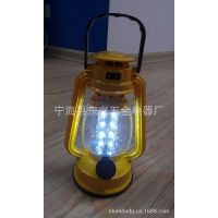 塑料材质 LED桅灯 可充电 使用干电池 两用