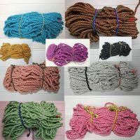 服装店绳网 墙壁装饰网 服装店绳子装饰 服装店装饰绳网 粗款网绳