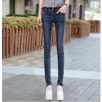 牛仔裤批发工厂直销大量库存女士牛仔裤小脚铅笔裤批发