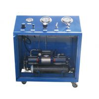 无级可调节防爆型压缩空气驱动气体增压放大器系统