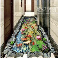 卫生间耐磨3D立体地板砖生产厂家|立体壁画地砖直销|3d立体地砖
