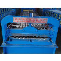 750型压瓦机辊轧成型压型板全自动兴益压瓦机厂
