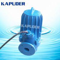 南京凯普德供应2.2kw无堵塞潜水排污泵 WQ40-10-2.2