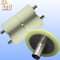 广州擎川加工定制不锈钢滚筒包胶流水线输送机滚筒