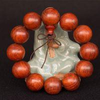 赞比亚血檀手串20mmx12颗 精品檀木男士女士红木手串手链