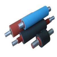 吹膜机压水辊 薄膜展平弯曲辊  PVC流延机高温硅橡胶辊