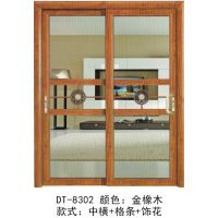 穗天名门专业生产:铝合金吊趟门、推拉门,厨房隔断,阳台隔断,客厅等。现面向全国各地厂家直供。