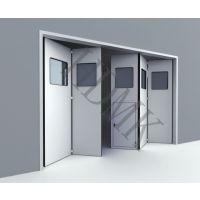 大型工业折叠门设计