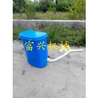 小型施肥器撒肥机 轻便背负式扬肥器 富兴电动施肥机