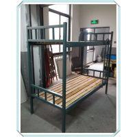 厂家供应全新款上下铺床合肥铁架床实木双层床折叠床价格优惠质量保证