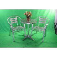 双管铝椅 休闲铝板椅 户外休闲堆叠椅 展会餐椅 电脑椅